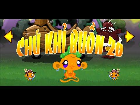 Game chú khỉ buồn 20 - Video hướng dẫn chơi game 24H