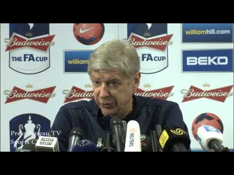 Arsene Wenger FA Cup Press Conference