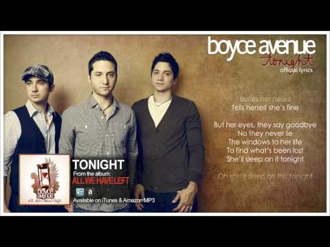 Boyce Avenue   Tonight Official Song & Lyrics on iTunes & Spotify
