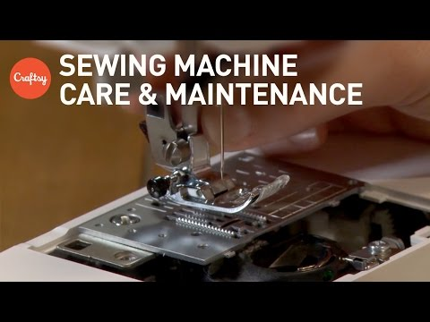 Sewing Machine Care & Maintenance (all machine types) | Sewing Help with Amy Alan