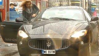 Ultimate STUPID DRIVERS Fails Caught on Dashcam 2017! Including Maserati Crash
