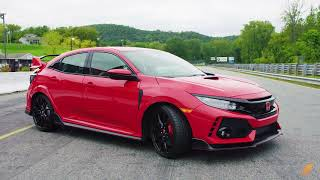 Honda Civic Type R --  Test Drive. Drive Youtube Channel.
