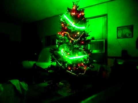 Solar Powered Christmas Tree - 12 Volt DC Sylvania Mosaic