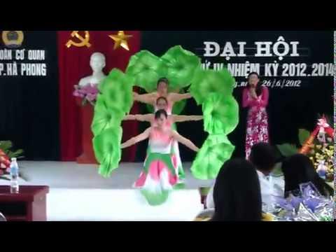 múa Người về thăm quê - UBND phường Hà Phong