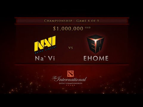 Dota 2 International - Championship Finals - EHOME vs NaVi Game 4