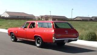 1971 Chevelle SS Wagon A WAGON EVERYONE CAN APPRECIATE