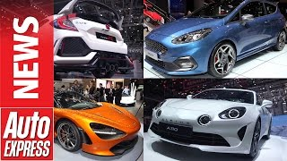 Best cars of the 2017 Geneva Motor Show. Auto Express.