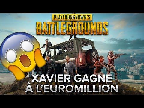 PUBG : Xavier gagne à l'euromillion !