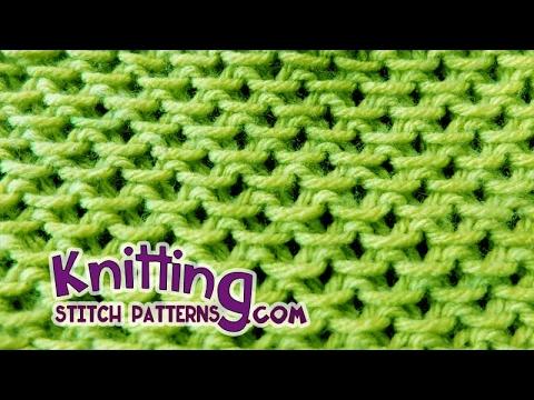 Slip Stitch Pattern #1 - STAMEN STITCH