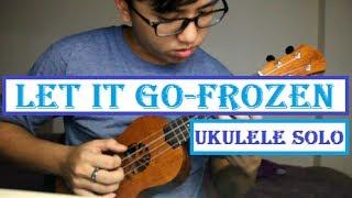 Let It Go Frozen Ukulele Fingerstyle By Amos Lim (TABs