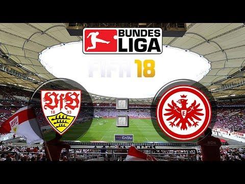 FIFA 18 Bundesliga VfB Stuttgart : Eintracht Frankfurt | Gameplay Deutsch Livestream
