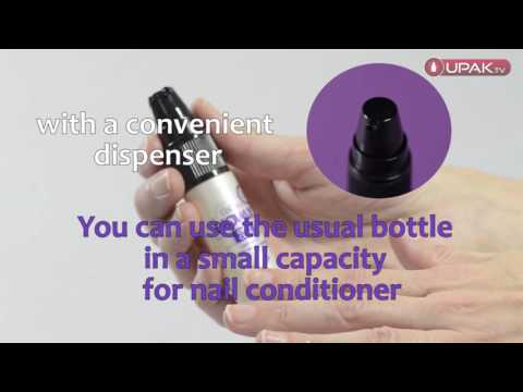 Bottle for nail conditioner