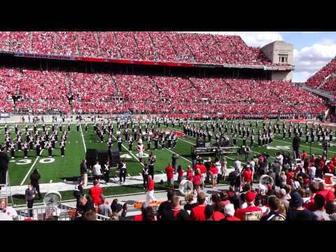 OSUMB Entire Pregame Show 9 12 2015 Alumni Band and Sloopy Salute