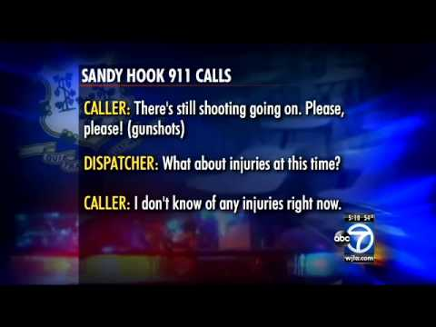 Sandy Hook shooting 911 tapes released