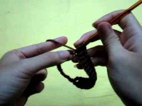 Cách móc găng tay bỏ ngón cho nam - phần 1 (vòng 1-6)