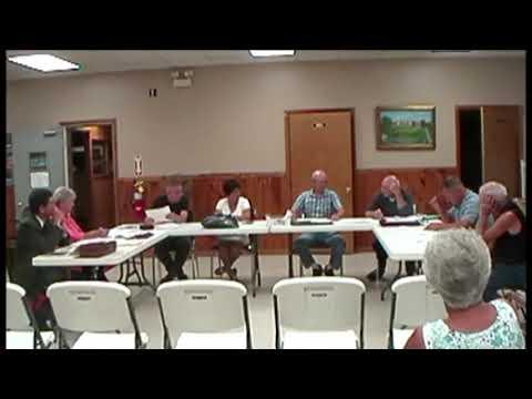 Altona Town Board Meeting 8-12-13