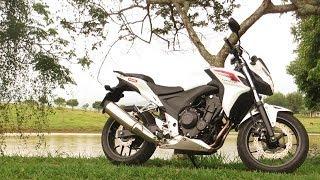 Teste Honda CB500 F
