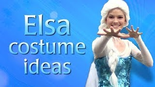 Queen Elsa Frozen Costume Ideas