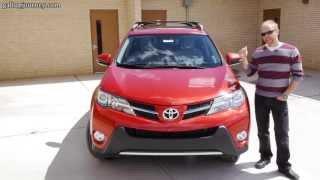 2013 Toyota RAV4 XLE AWD: Blending In Just Got Easier! In