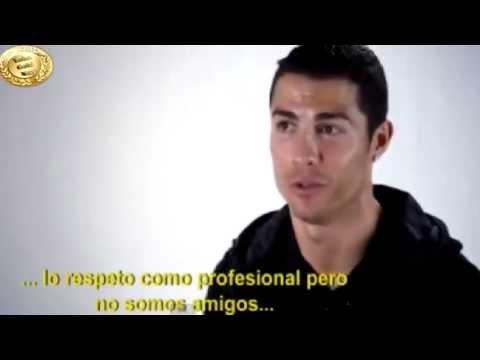 Cristiano Ronaldo habla de Messi