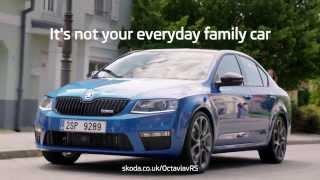 Прикольная вирусная реклама Skoda Octavia vRS.