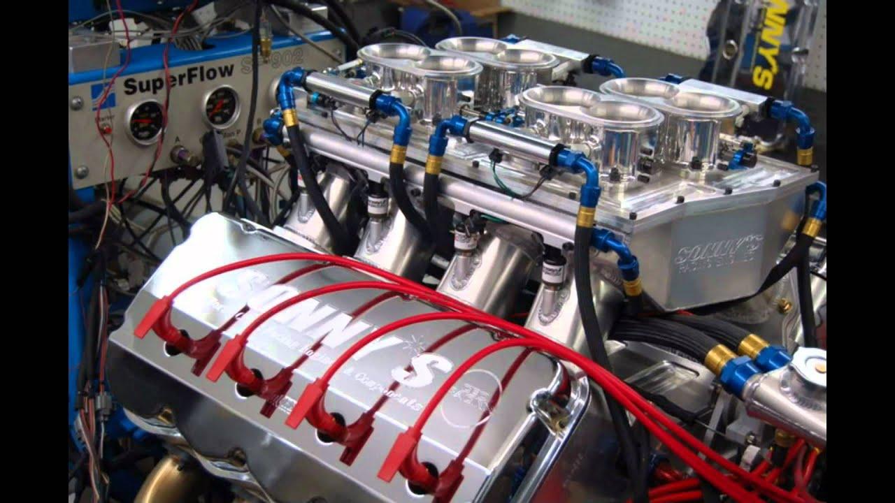 World s first 1000ci drag race engine sonny s racing youtube