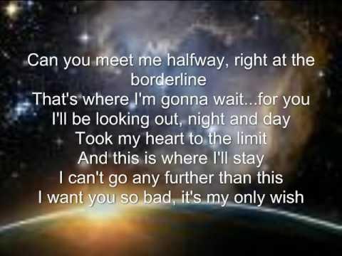 i meet me halfway lyrics black