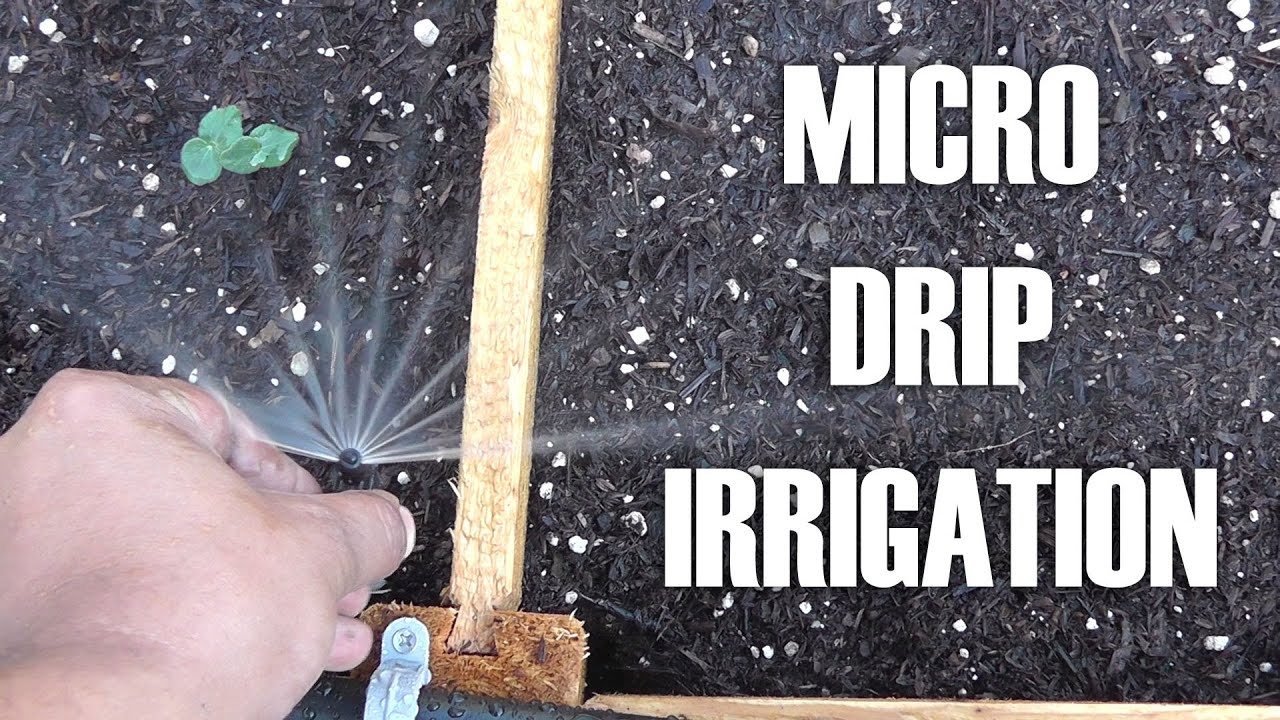Adding Micro/Drip Irrigation For Raised Bed Garden By ...