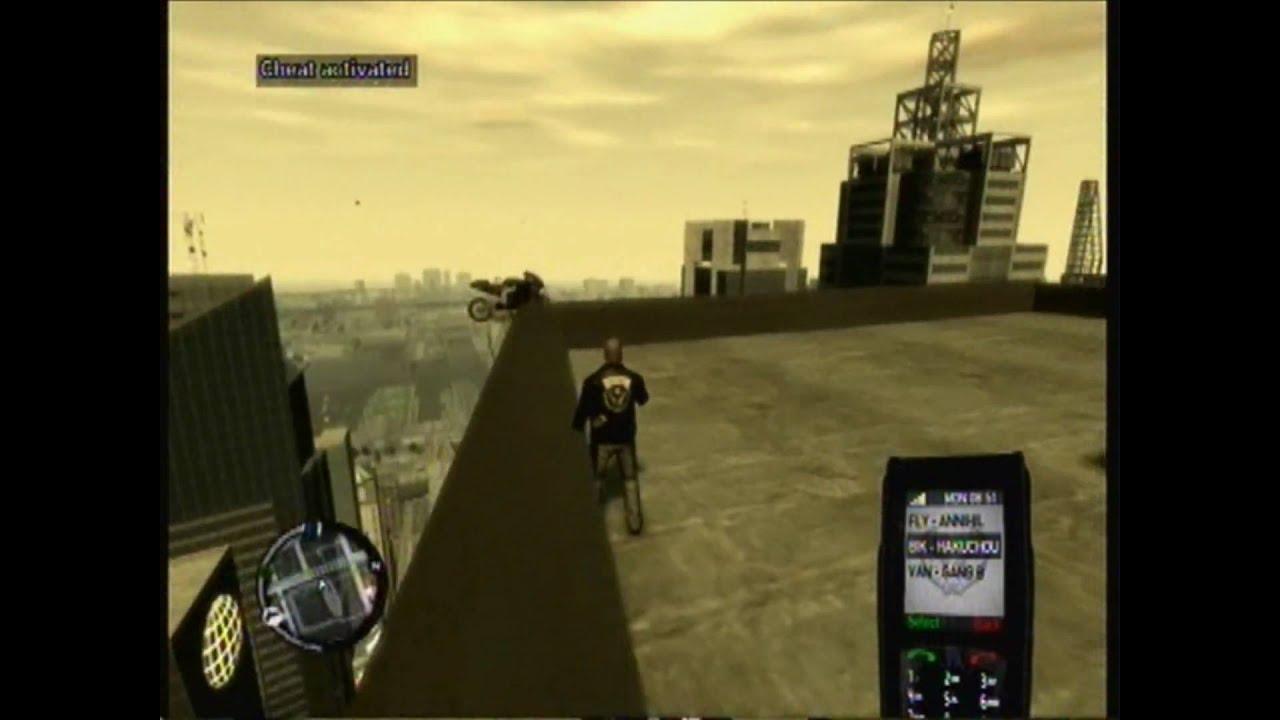 GTA 4 Jetpack glitch -...