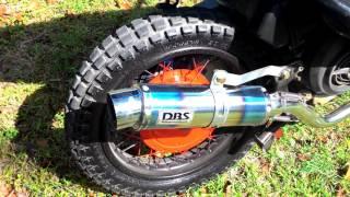 Modifikasi Motor Trail Skutik Yamaha Mio Modif Trail Motorplus