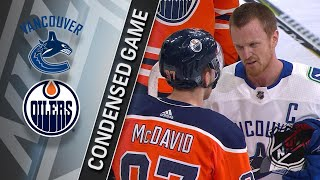 04/07/18 Condensed Game: Canucks @ Oilers