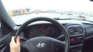 2007 Hyundai Sonata 4 ТагАЗ 2.0 POV Test Drive. MegaRetr