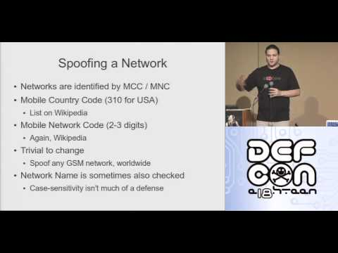 DEFCON 18: Practical Cellphone Spying 2/4