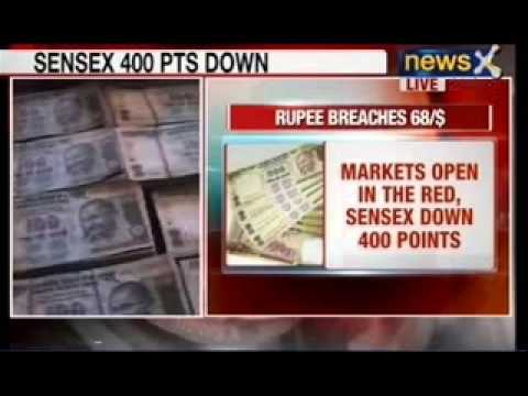 Indian Rupee vs US Dollar: Rupee sinks to 68.5 against the US Dollar