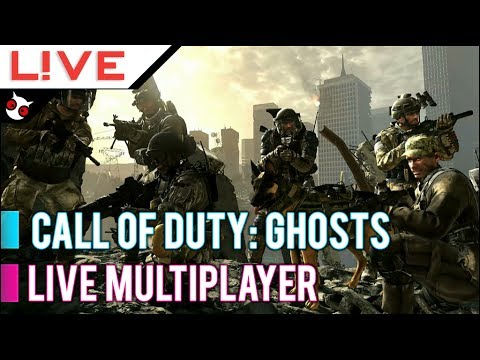 L!VE: Call of Duty Ghosts | Multiplayer Live Return