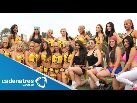Liga Iberoamericana de Bikini Fútbol visita los foros de Nuestro Día