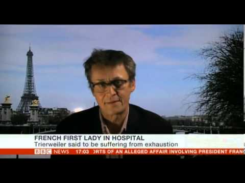 Valerie Trierweiler of  President Hollande in hospital following Julie Gayet revelations