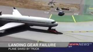 Plane Landing Saved by a Truck Must See..
