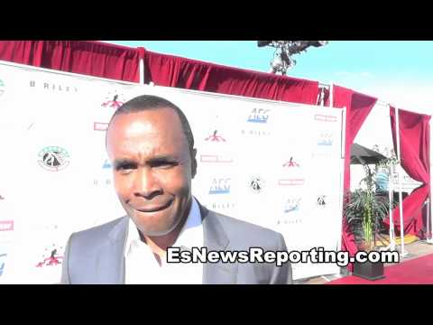 sugar ray leonard maywether vs maidana 2 will be a very exciting fight EsNews