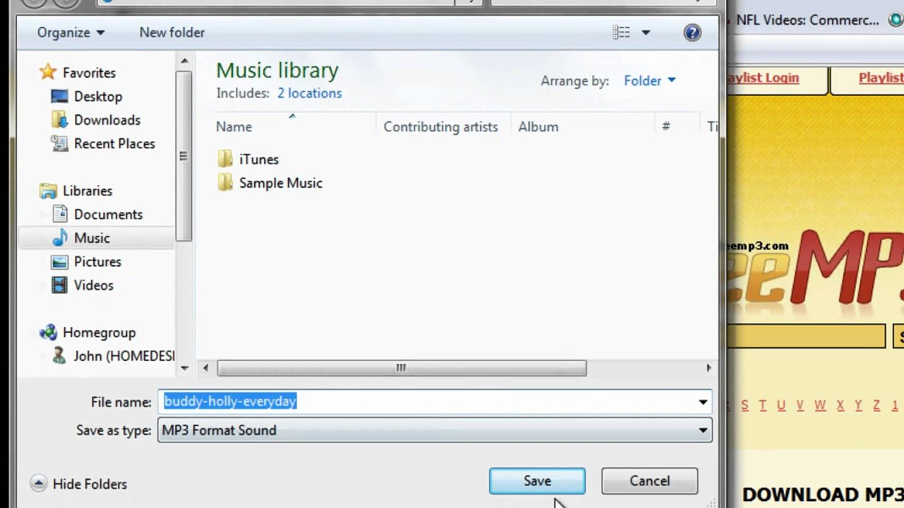 How to get free songs for your computer ipod etc quick and easy
