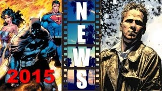 Wonder Woman In Batman Superman 2015? Constantine TV