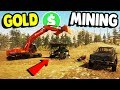 MINING FOR GOLD MAKING MILLIONS Gold Rush The Game Gameplay