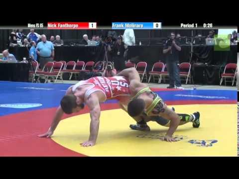 65 KG - Nick Fanthorpe vs. Frank Molinaro