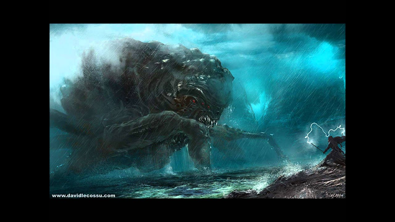 Japanese Mythic... Giant Sea Monster Skyrim