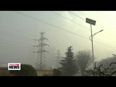 China seeking green growth amid worsening air pollution