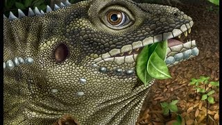 Lizard King fossil shows giant reptiles coexisted with mammals