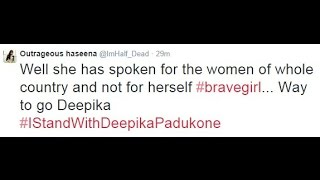 Bollywood Actress Deepika Padukone Anger Over Cleavage