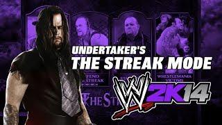 WWE 2K14 Undertaker The Streak Mode (Beat The Streak Or