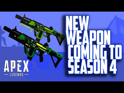 New weapon is coming in Season4? Leaks - Apex Legends WTF - Funny Moments - apex legends tips - #