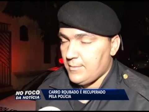 Carro roubado é localizado pela Polícia de Uberlândia